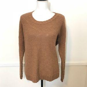 Madewell Wallace medium brown sweater